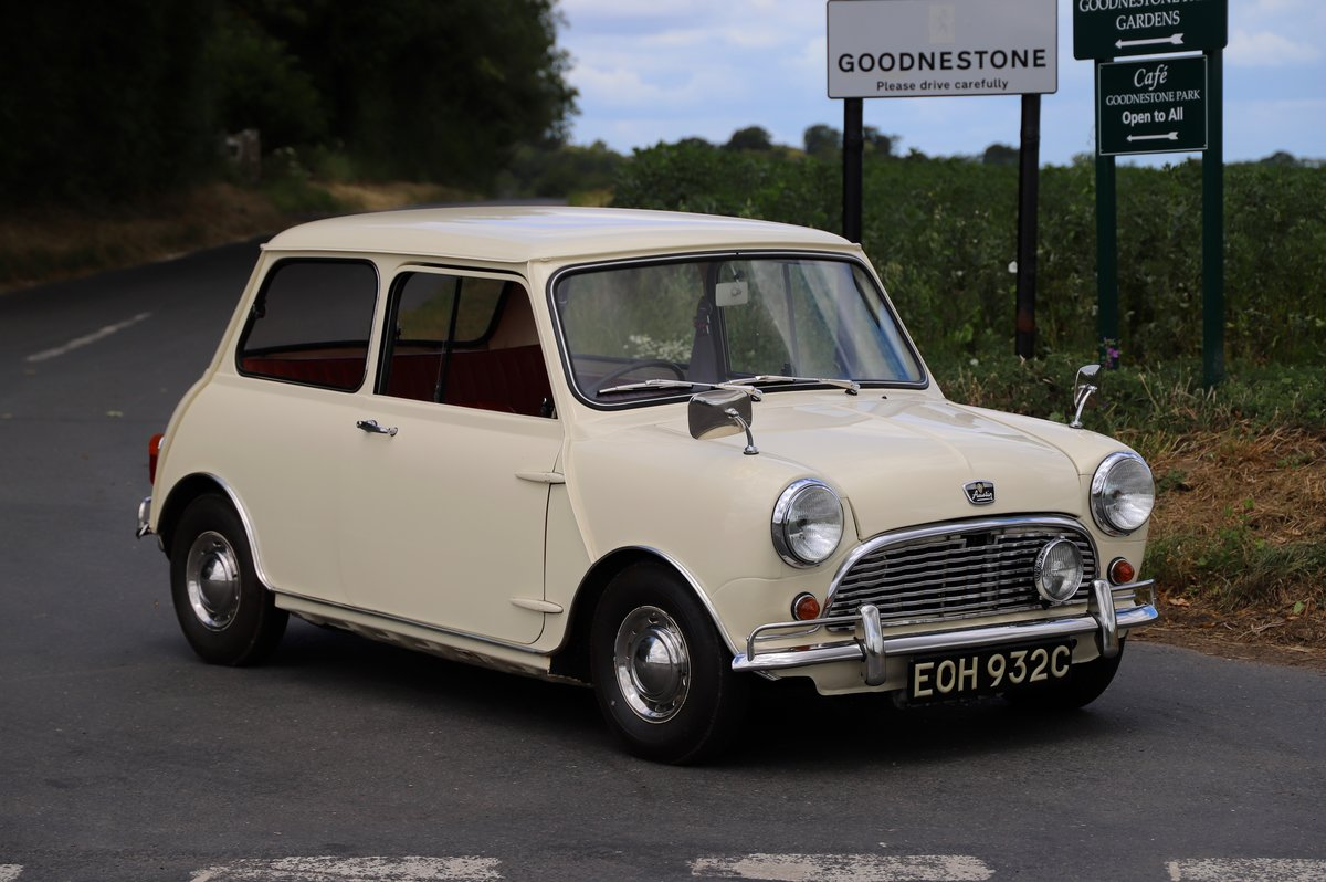 Austin Mini Mk1 Automatic Super De-Luxe, 1965.  For Sale (picture 1 of 6)