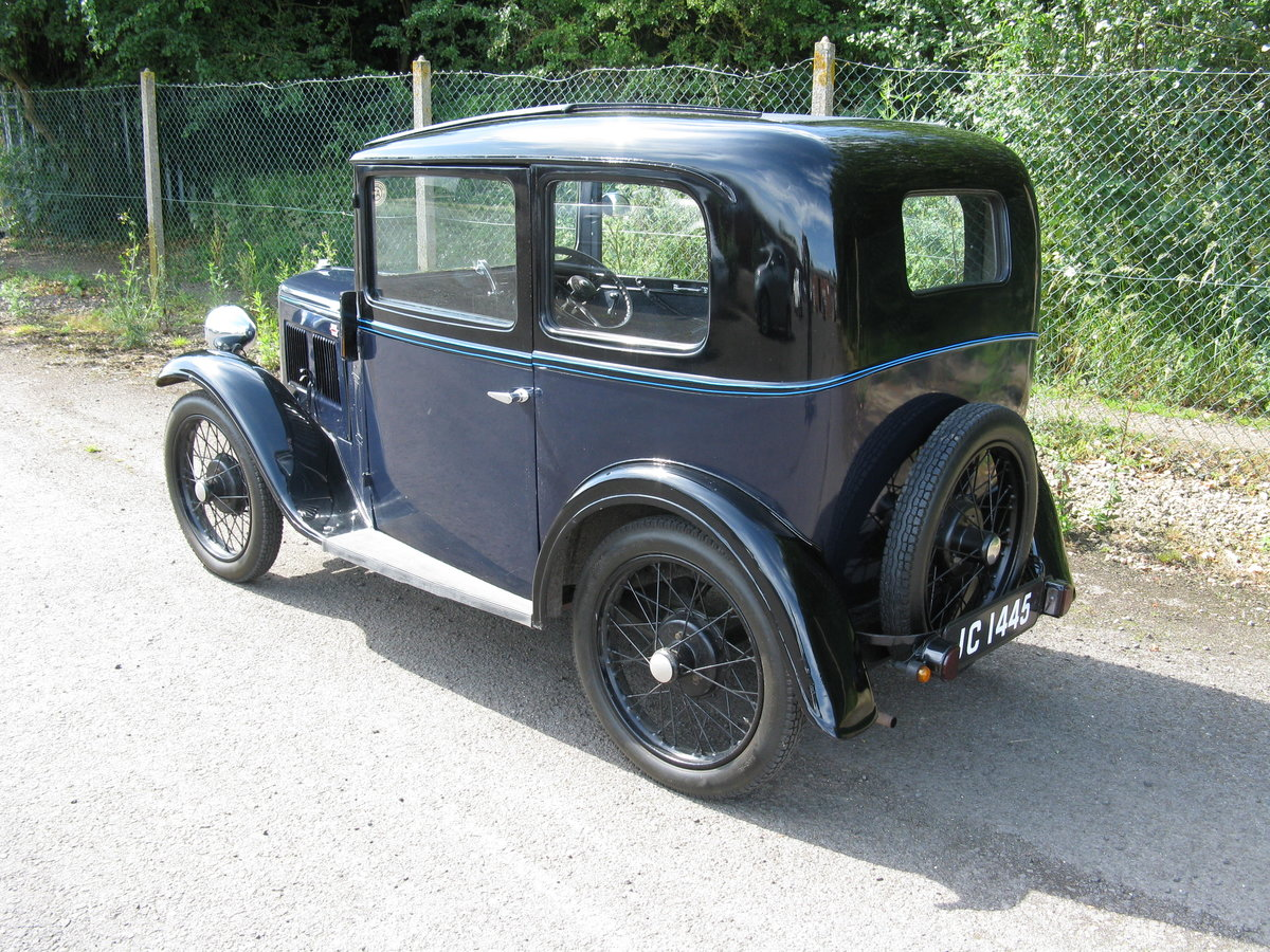 1934 Austin 7 RP Saloon with sunroof SOLD (picture 2 of 6)
