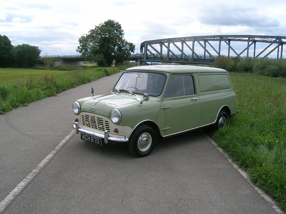 1966 Austin Mini Van Historic Vehicle For Sale (picture 1 of 6)