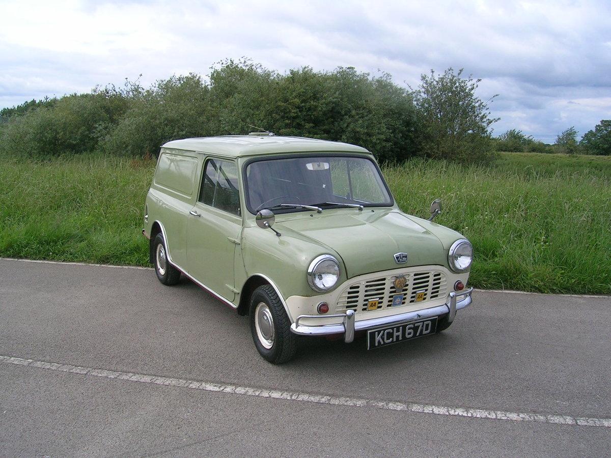 1966 Austin Mini Van Historic Vehicle For Sale (picture 2 of 6)