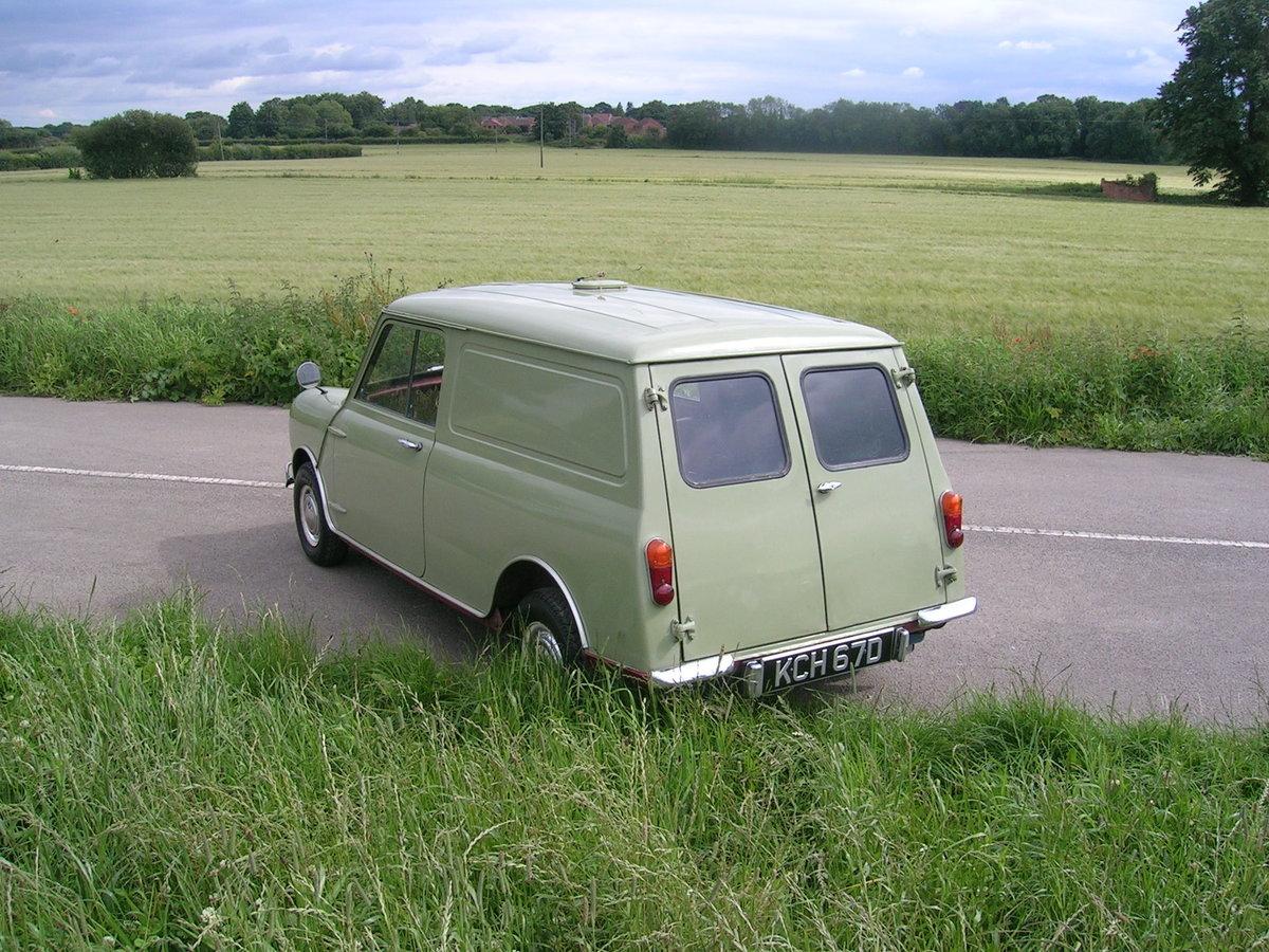 1966 Austin Mini Van Historic Vehicle For Sale (picture 3 of 6)