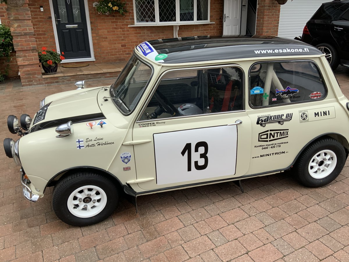 1966  Mark 1 Mini Cooper S FIA rally car 1275 For Sale (picture 2 of 6)