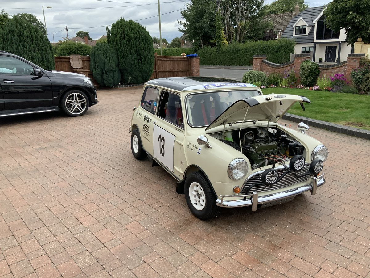 1966  Mark 1 Mini Cooper S FIA rally car 1275 For Sale (picture 3 of 6)