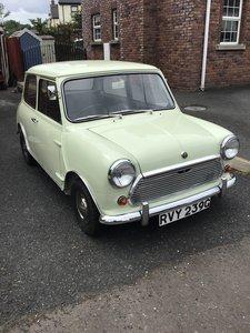 1969 Mk2 mini 1000