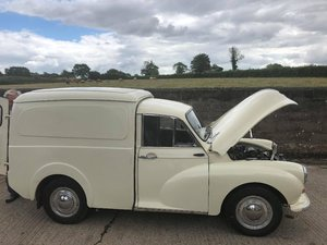 1969 Morris Minor Austin badged Van.