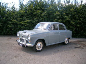 1955  Austin A50 Cambridge Historic Project