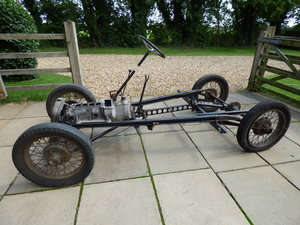 Austin 7 rolling chassis