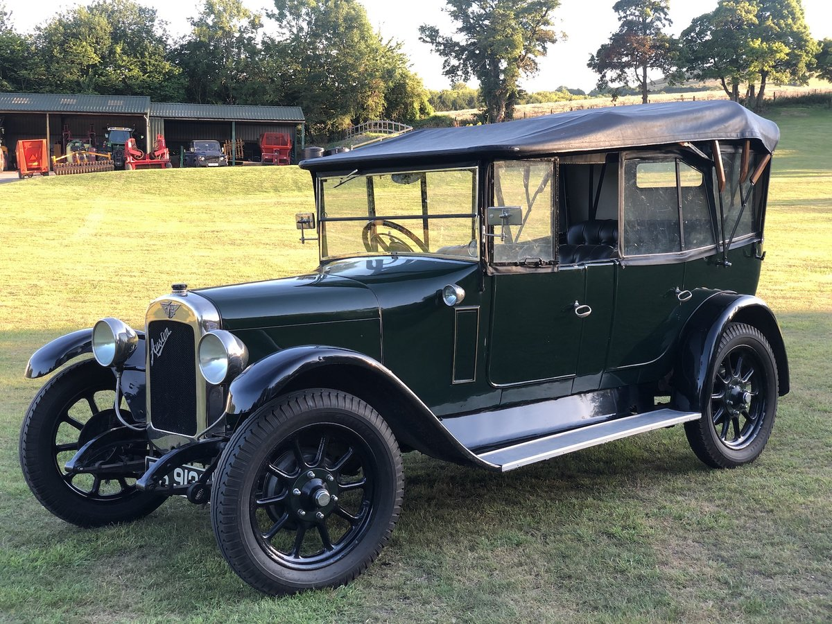 1927 Austin 12/4  tourer SOLD (picture 21 of 24)