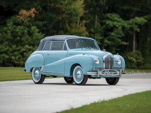 1953 Austin A40 Somerset Coupe by Carbodies