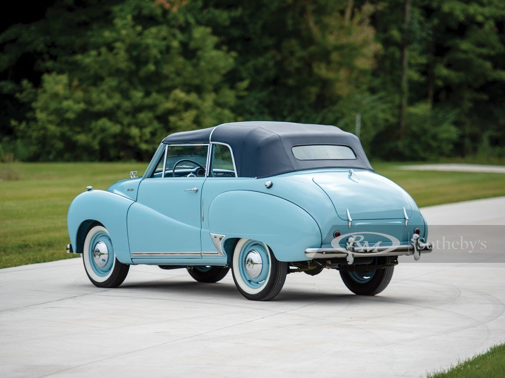 1953 Austin A40 Somerset Coupe by Carbodies For Sale by Auction (picture 2 of 6)