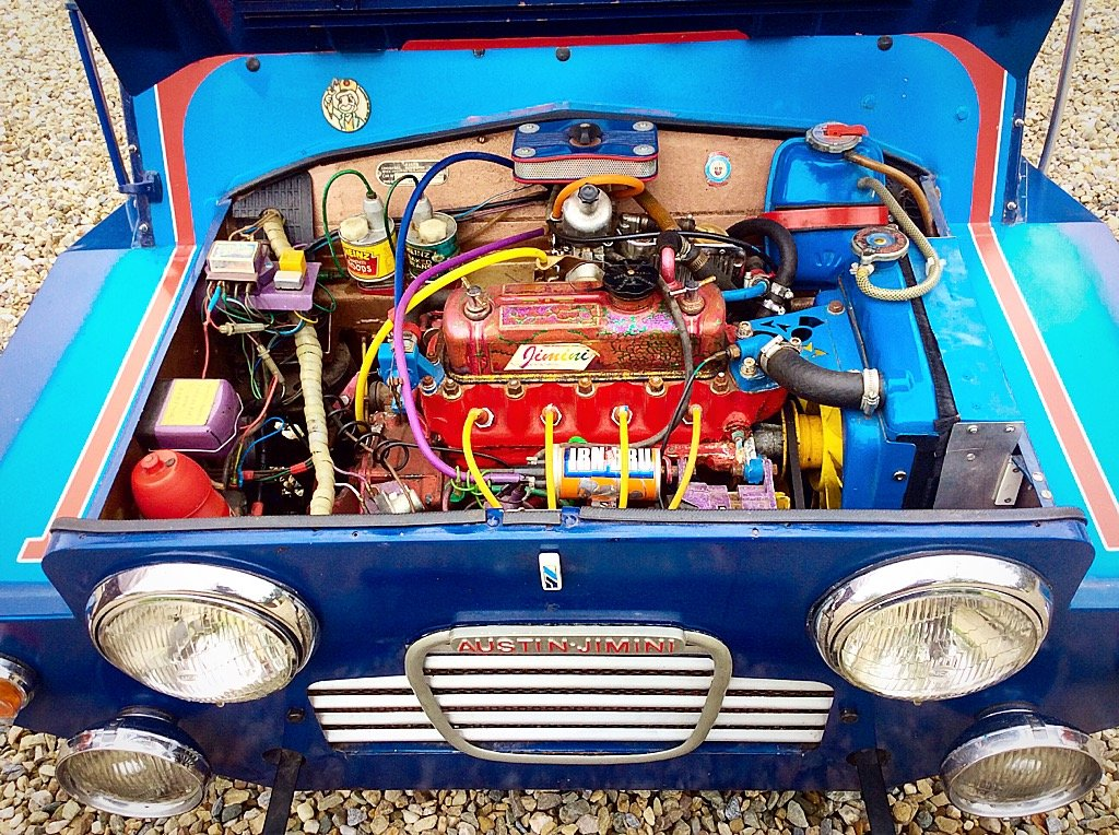 1963 AUSTIN JIMINI-MINI MOKE 3750 MILES FROM NEW - TIME WARP - PX For Sale (picture 5 of 6)