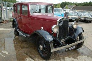 1934  AUSTIN 12/6 TWELVE SIX TAX AND MOT EXEMPT