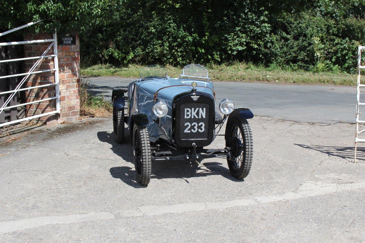 1935 Austin 7 Ulster Replica, Rod Yates Aluminium Body For Sale (picture 1 of 16)