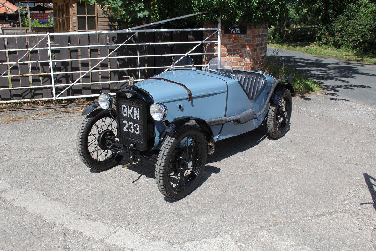 1935 Austin 7 Ulster Replica, Rod Yates Aluminium Body For Sale (picture 3 of 16)