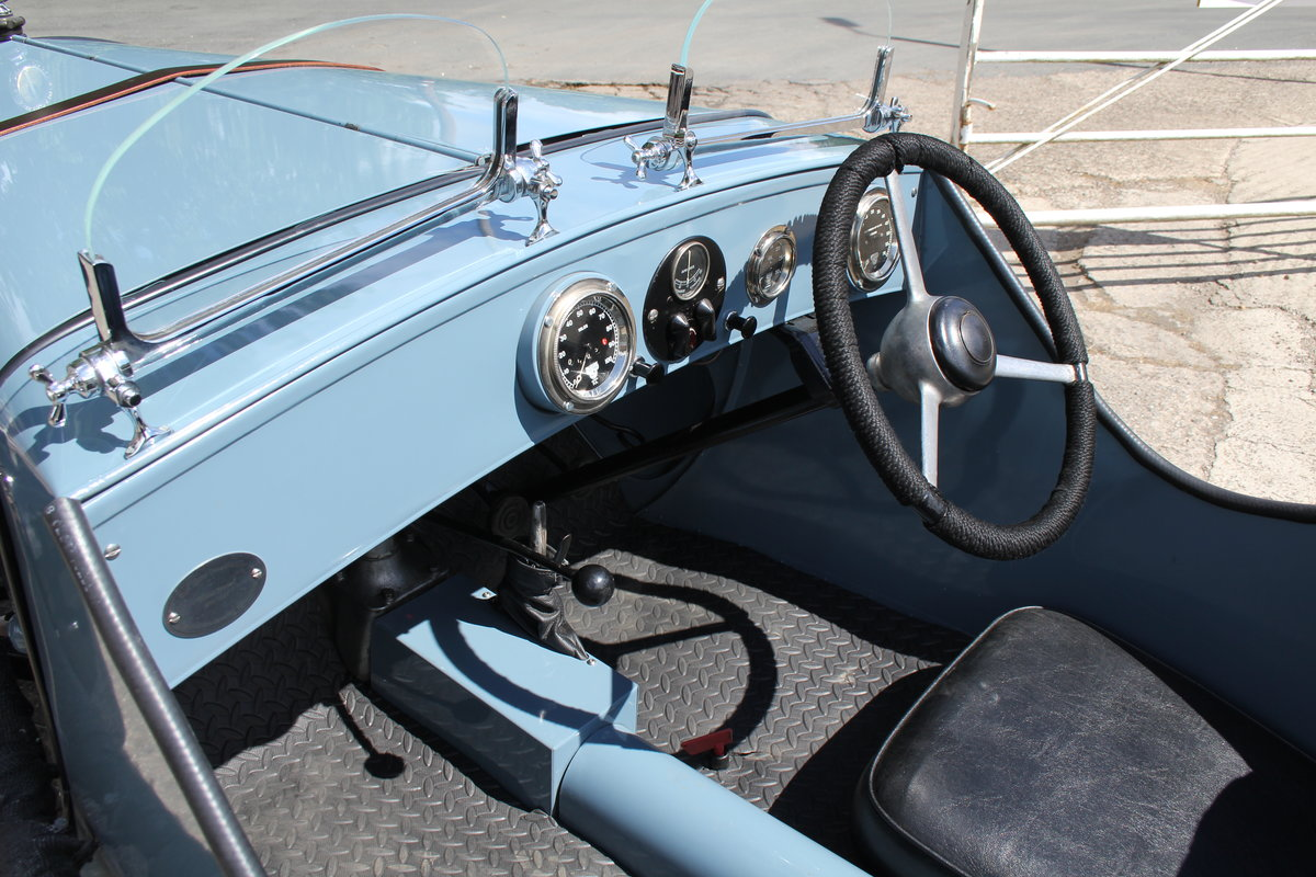 1935 Austin 7 Ulster Replica, Rod Yates Aluminium Body For Sale (picture 10 of 16)