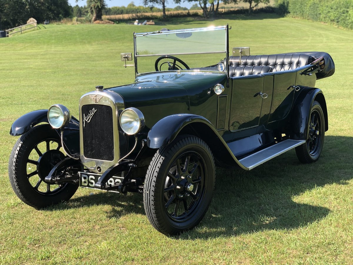 1927 Austin 12/4  tourer SOLD (picture 1 of 24)