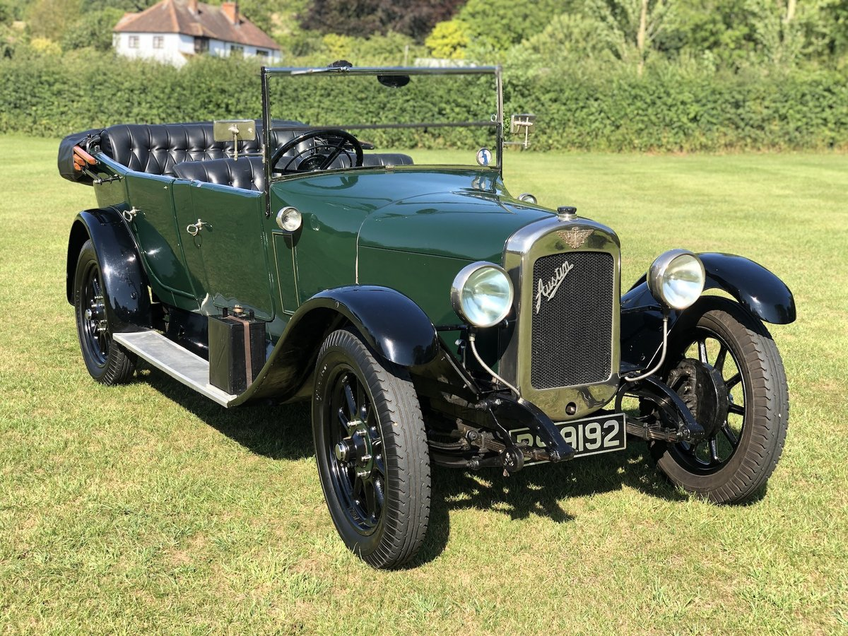 1927 Austin 12/4  tourer SOLD (picture 2 of 24)
