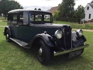 1937 Austin 16/6 York at ACA 22nd August