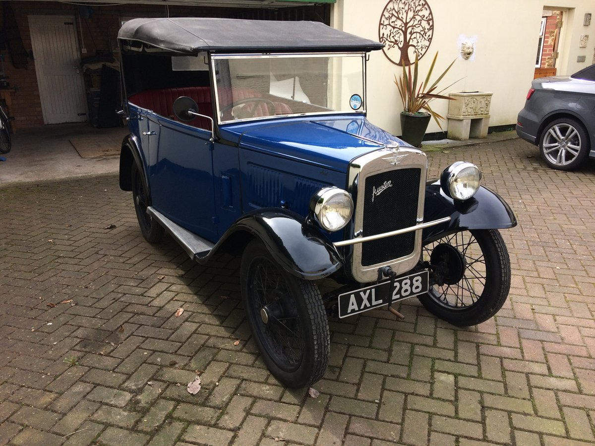 1934 Austin 7 4 seat tourer  For Sale (picture 1 of 5)