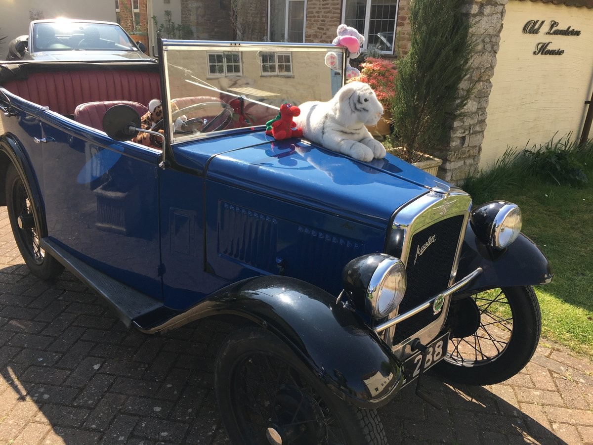 1934 Austin 7 4 seat tourer  For Sale (picture 4 of 5)