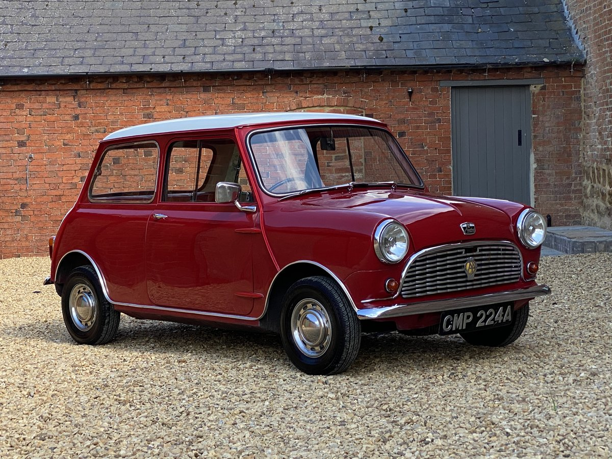 1963 Austin Mini 850 MK I. Beautifully Restored SOLD (picture 1 of 6)