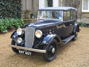 1936 Austin 12/4 Open Road at ACA 22nd August