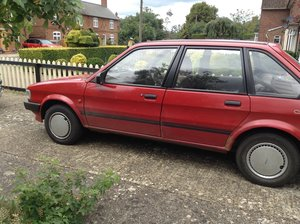 1988 Austin Meastro City x 5 Door Hatchback in Red