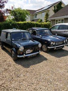 1966 Classic mini van 1275 tuned