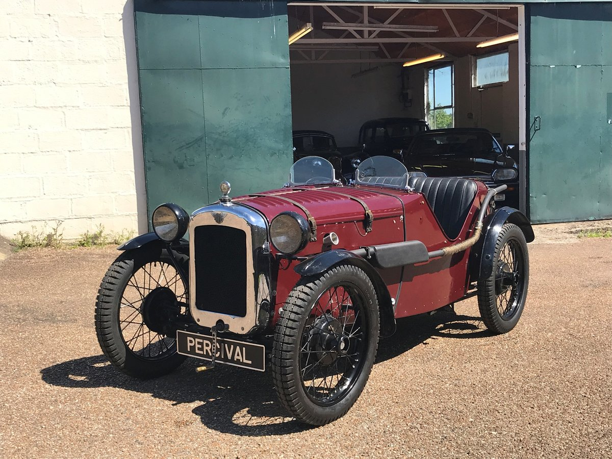 1930 Austin 7 Ulster Rep, alloy body, VSCC eligible For Sale (picture 1 of 6)