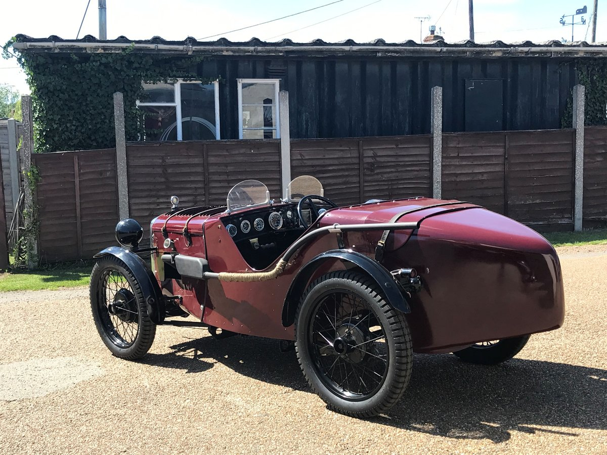 1930 Austin 7 Ulster Rep, alloy body, VSCC eligible For Sale (picture 2 of 6)