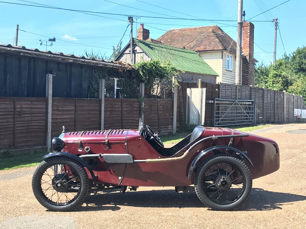 1930 Austin 7 Ulster Rep, alloy body, VSCC eligible For Sale (picture 5 of 6)