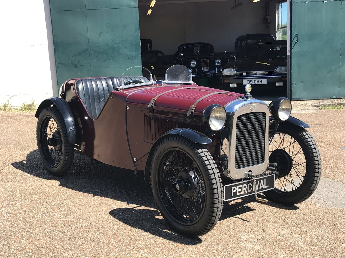 1930 Austin 7 Ulster Rep, alloy body, VSCC eligible For Sale (picture 6 of 6)