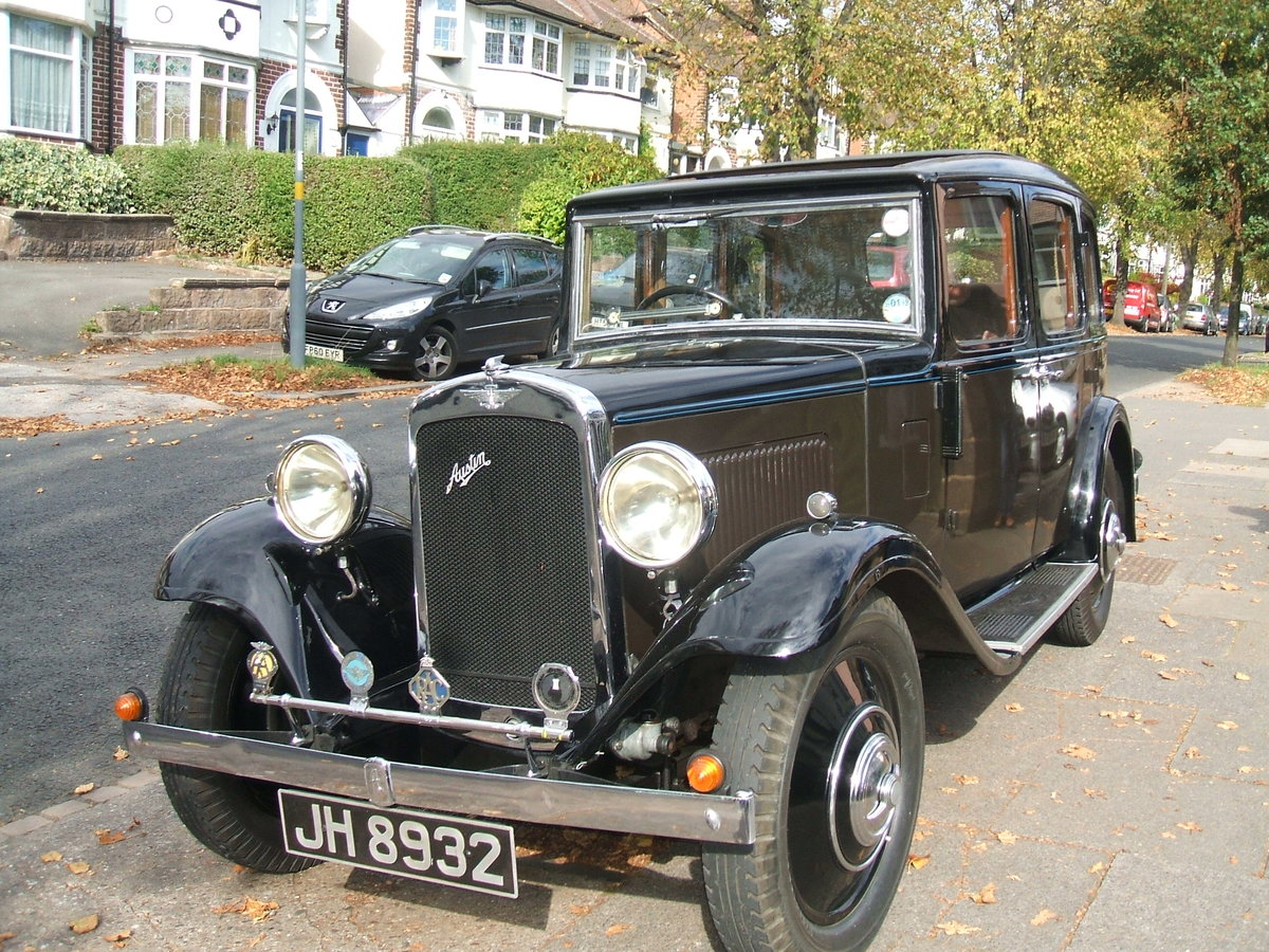 1934 Austin 12/4 Harley SOLD (picture 1 of 6)