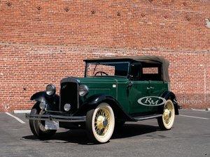 1932 Austin Light 124 Open Road Tourer