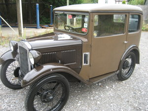 1930 Austin 7 RG Fabric Body Saloon For Sale