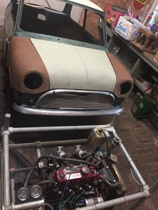 Longbridge and Motor Show car for restoration