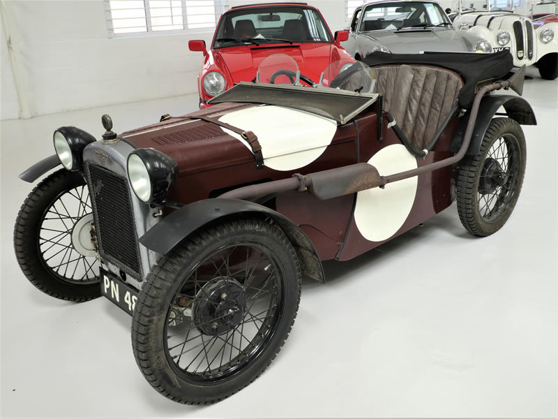 1929 Austin Seven Ulster Replica - Works Engine & Gearbox For Sale (picture 2 of 6)