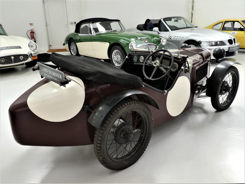 1929 Austin Seven Ulster Replica - Works Engine & Gearbox For Sale (picture 4 of 6)
