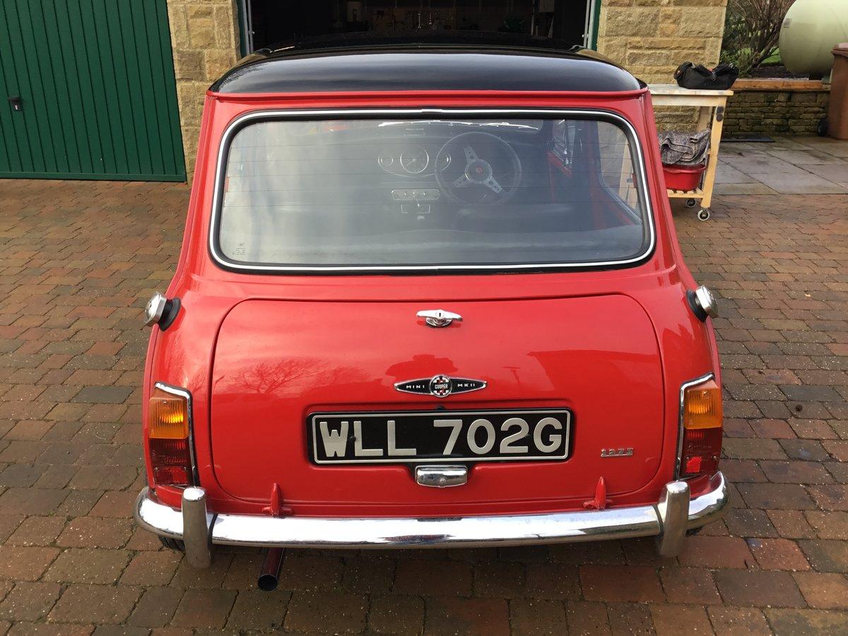 1968 Mini Cooper Mk 2 1275 S For Sale (picture 3 of 6)
