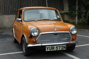 Austin Mini 1000 1974 - To be auctioned 30-10-20 For Sale by Auction