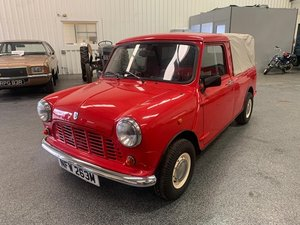 *REMAINS AVAILABLE - AUGUST AUCTION* 1973 Austin Mini Pickup For Sale by Auction