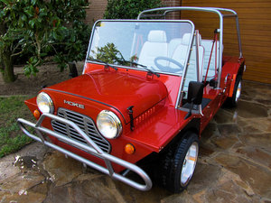 Mini moke in perfect condition