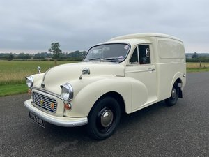 Picture of 1959 Austin 1000 6CWT Van in cream with red interior SOLD
