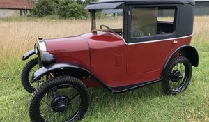 1929 Austin 7 Coupe for auction 19th September For Sale by Auction