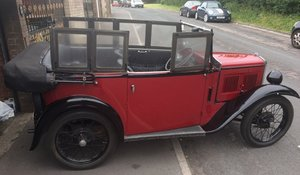 1933 Austin 7 four-seat tourer for auction 19th September For Sale by Auction