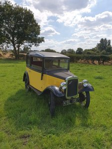 1934 Austin 7 Box Saloon for auction 19th September For Sale by Auction