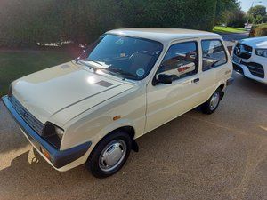 1985 Stunning original Metro City X, low miles