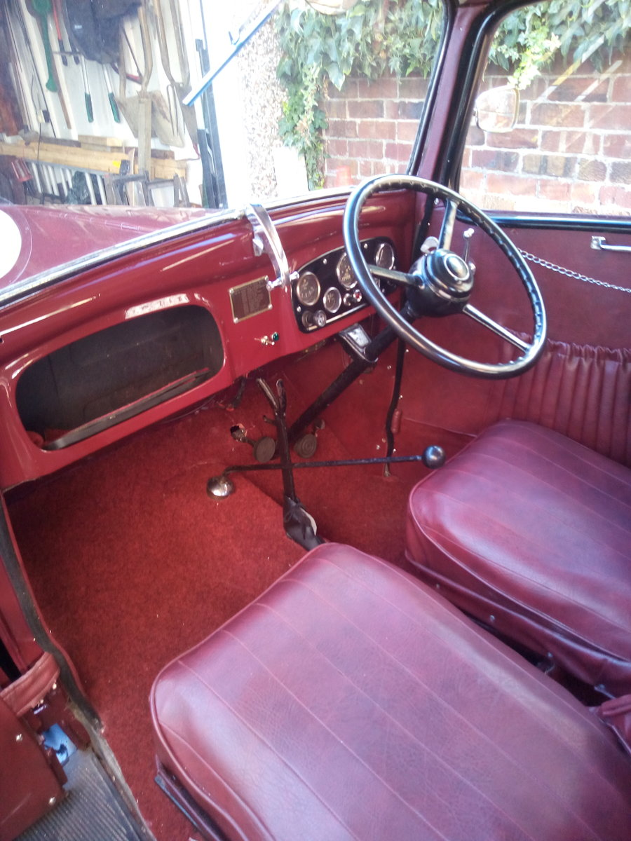1938 Austin 7 Ruby  SOLD (picture 1 of 6)