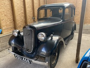 Austin 7 Ruby - Ex-Joan Armatrading car - Very original