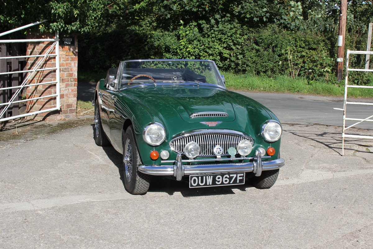 1967 Austin Healey 3000 MK3 Ex Victor Gauntlett C/O Aston Martin For Sale (picture 1 of 18)